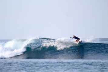Annie ripping it up.
